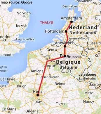Как добраться из дюссельдорфа в амстердам: лучшие способы