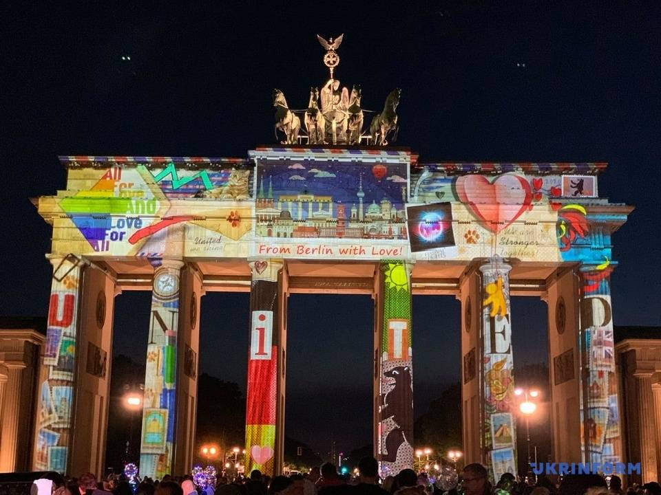 Световое шоу в германии | obrazovanie-nogliki.ru