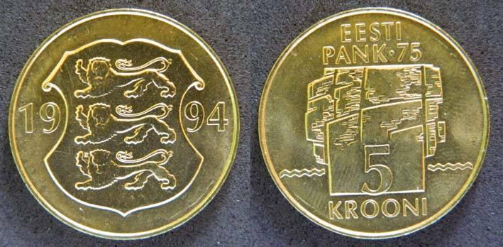 Как называется валюта в эстонии