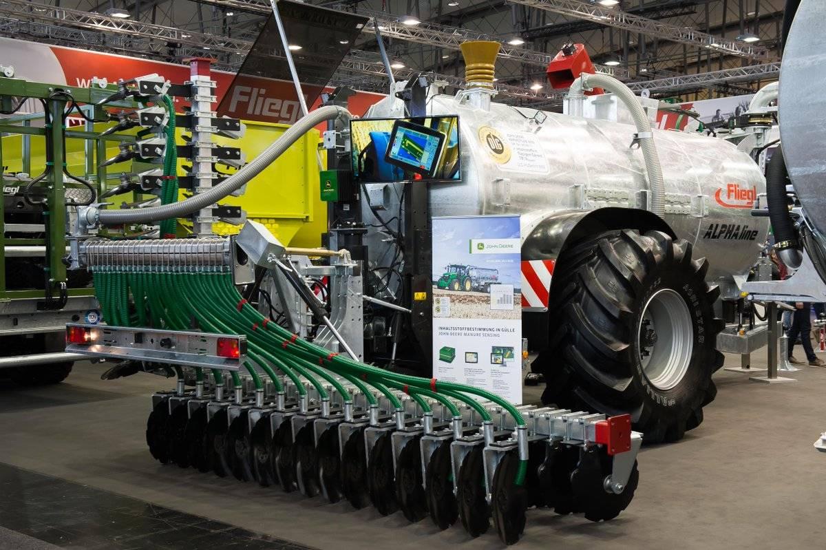 Инновационные технологии в сельском хозяйстве получили медали agritechnica innovation award