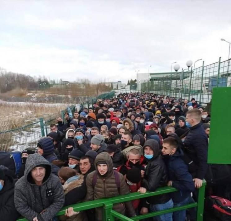 Пограничный пункт бобровники на границе с польшей. онлайн очереди в бобровниках