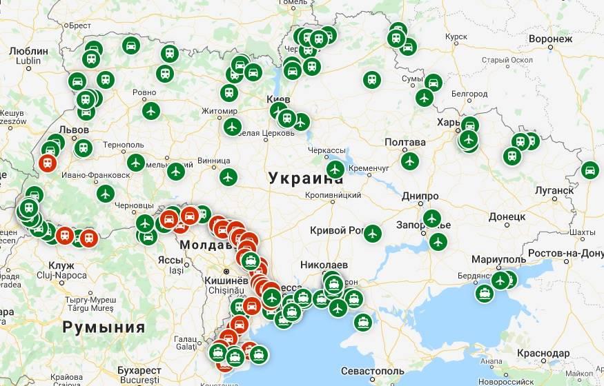 Граница польша - украина и карантин