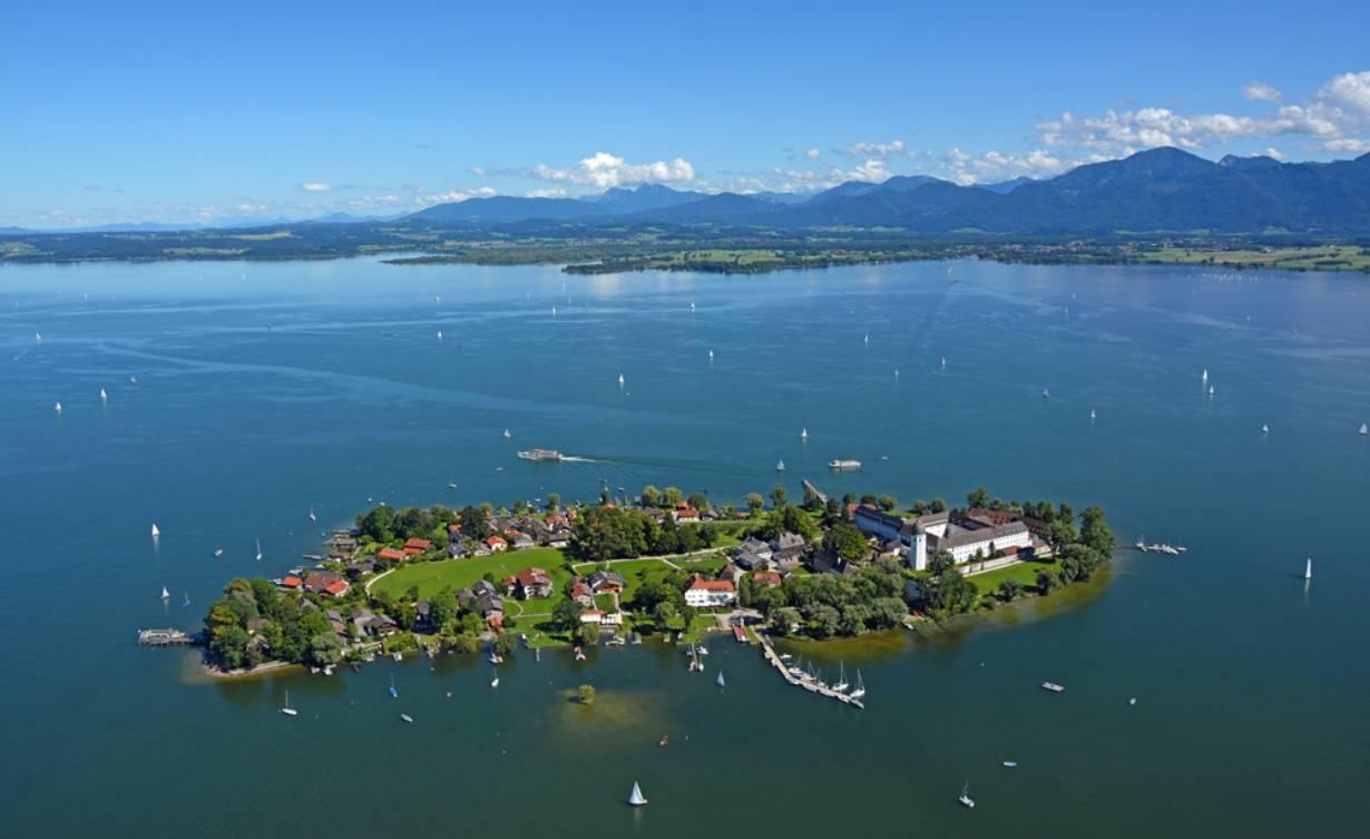 Озеро кимзее – «баварское море»