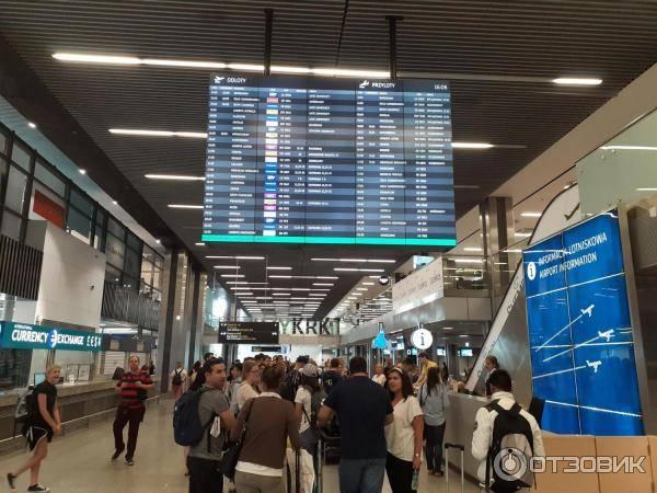 Краковский международный аэропорт имени иоанна павла ii - gaz.wiki