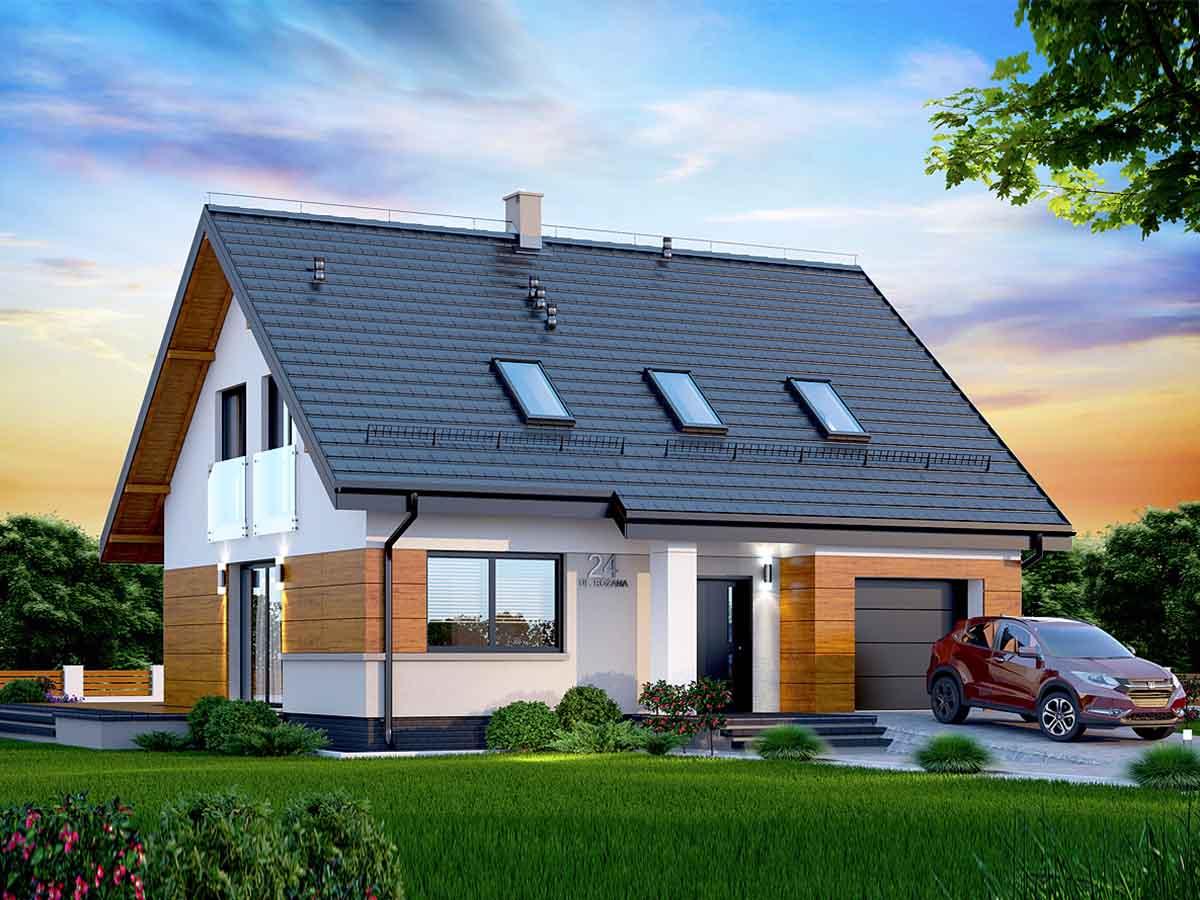 Проект польского дома,широкий выбор материалов