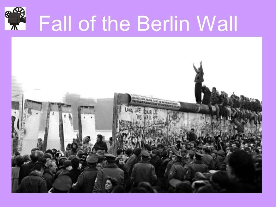 Берлинская стена: история создания и разрушения. падение берлинской стены
