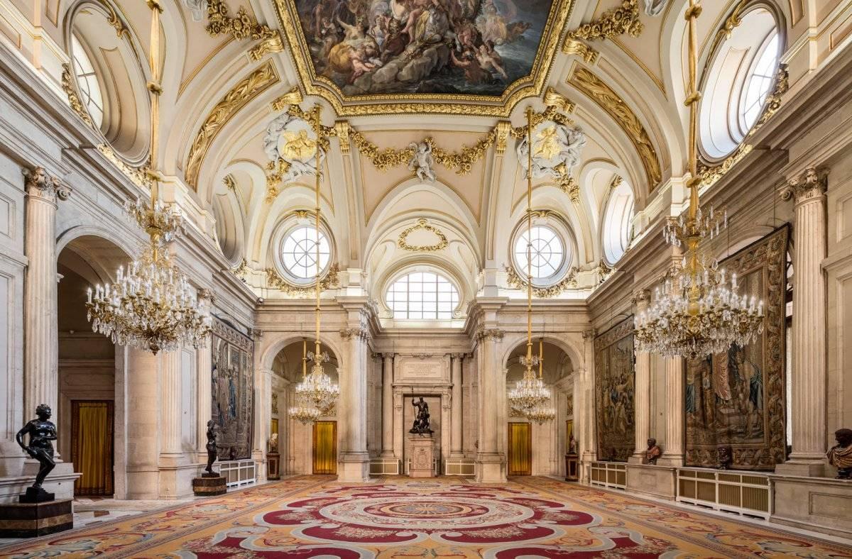 Королевский дворец в мадриде: полное описание + фото