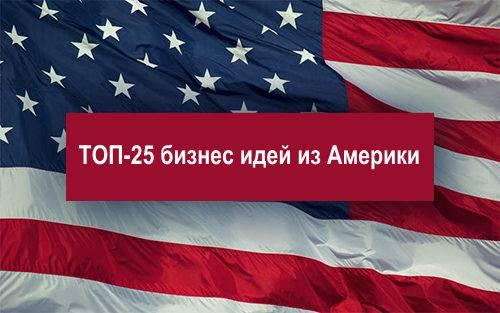 Бизнес в америке: открытие, интересные идеи, варианты для иностранцев