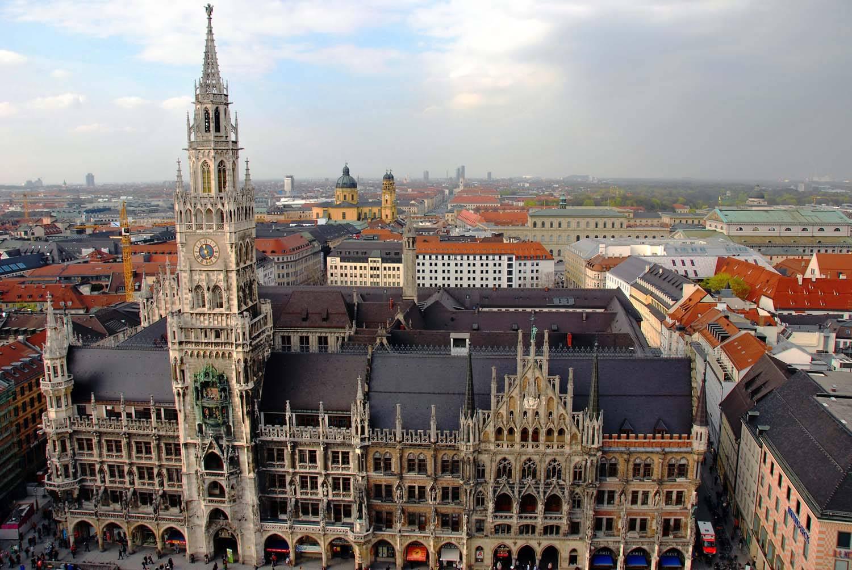 Новая ратуша в мюнхене: история, описание, фото