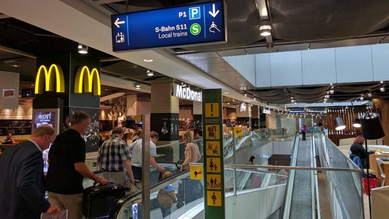Международный аэропорт в дюссельдорфе