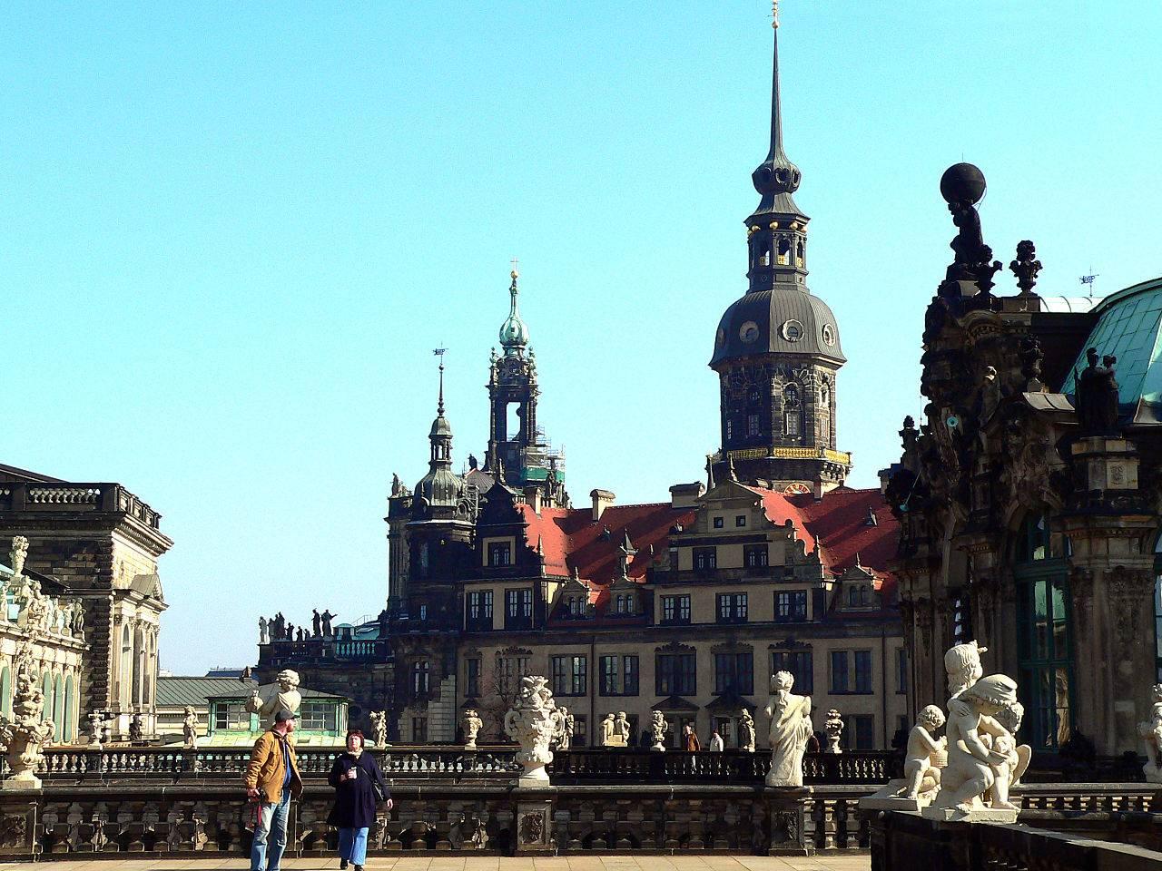 Дрезденский замок (дворец-резиденция) в 2021