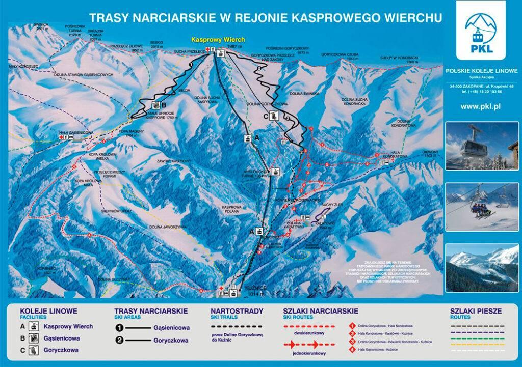 Польша: горнолыжные курорты закопане и бялка татранска