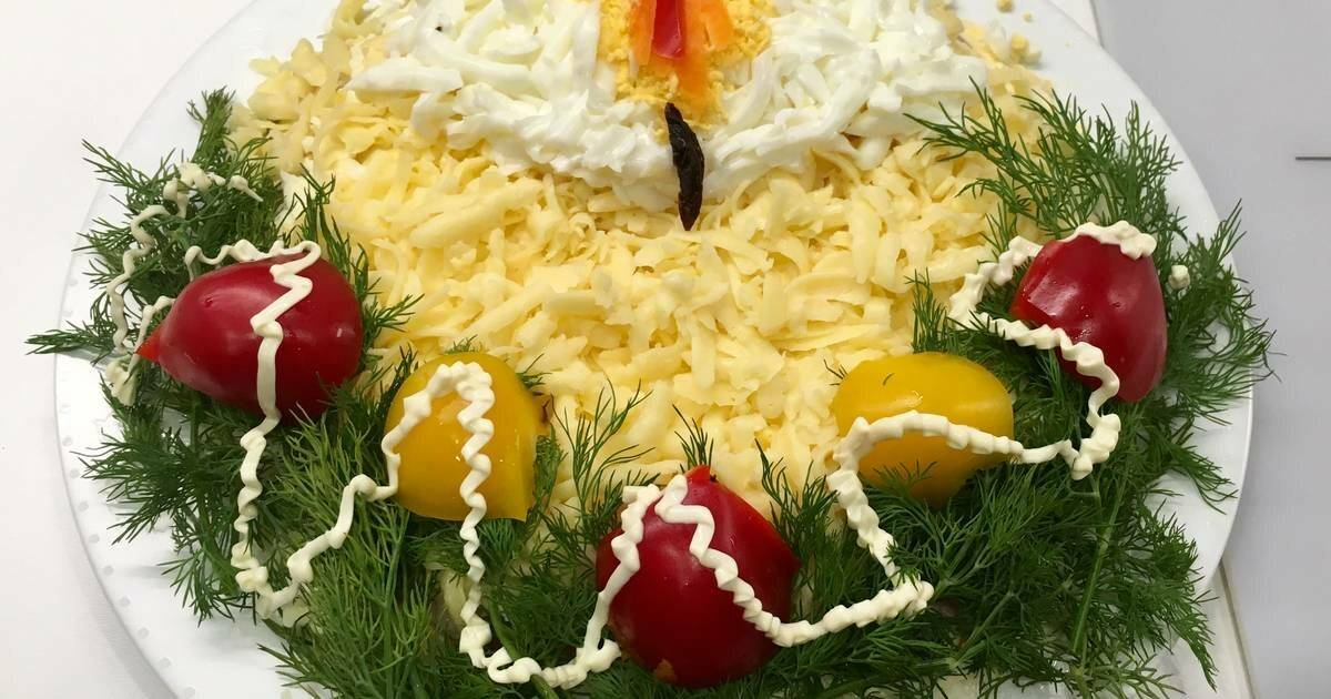 Салат березка - 7 домашних вкусных рецептов приготовления