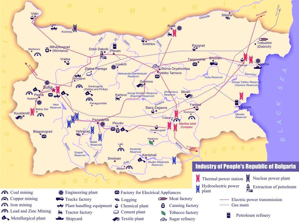 География болгарии — википедия. что такое география болгарии