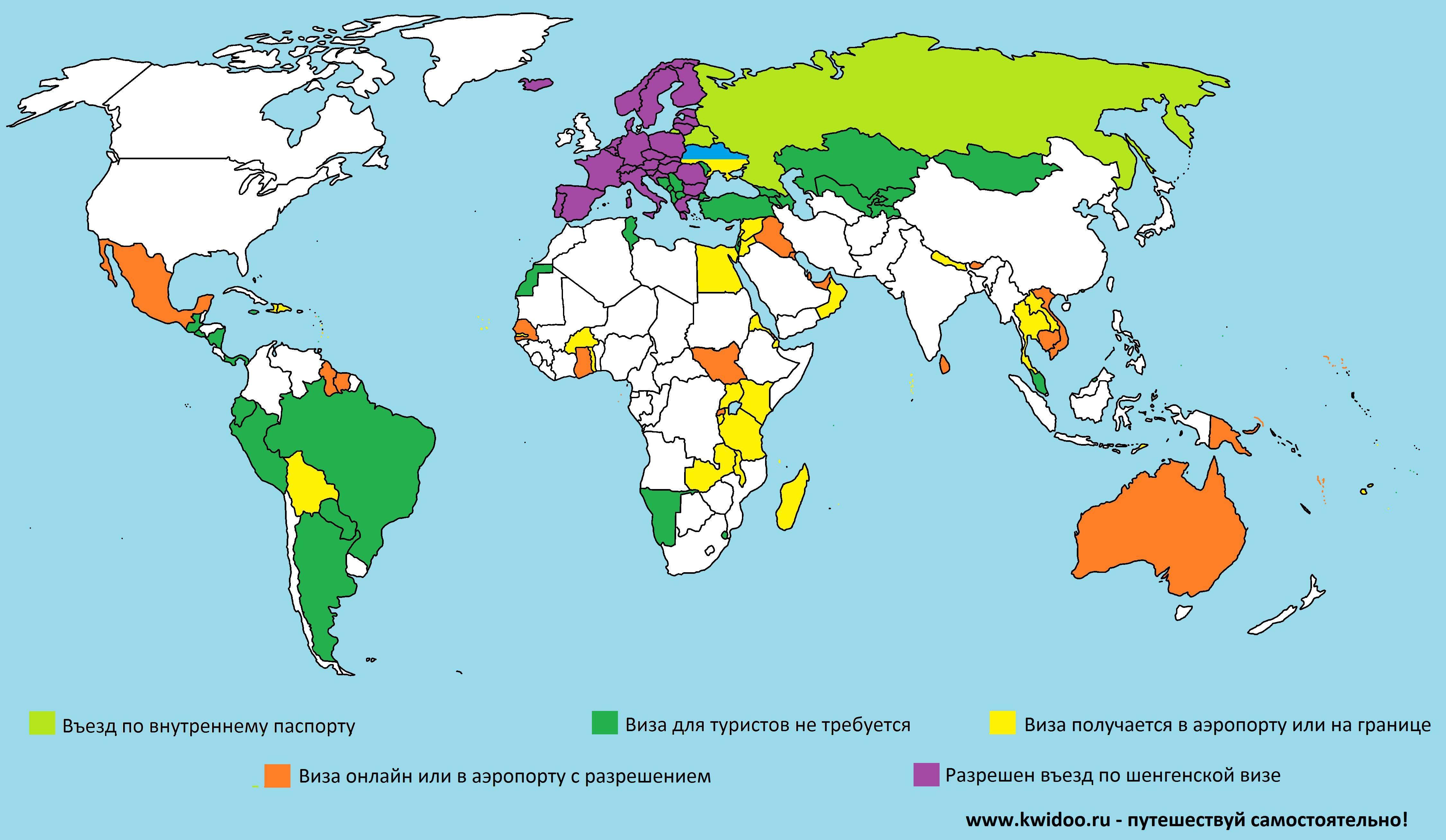 Куда можно поехать с болгарской визой в 2019 году, список стран
