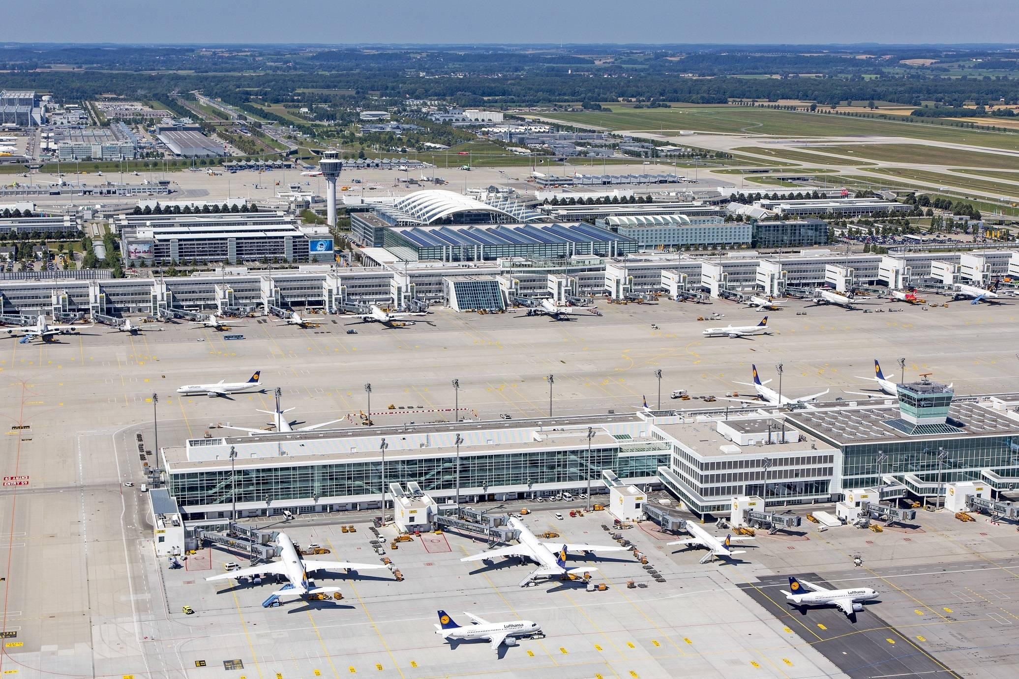 Munich international airport (muc/eddm) - мюнхен, германия (de)