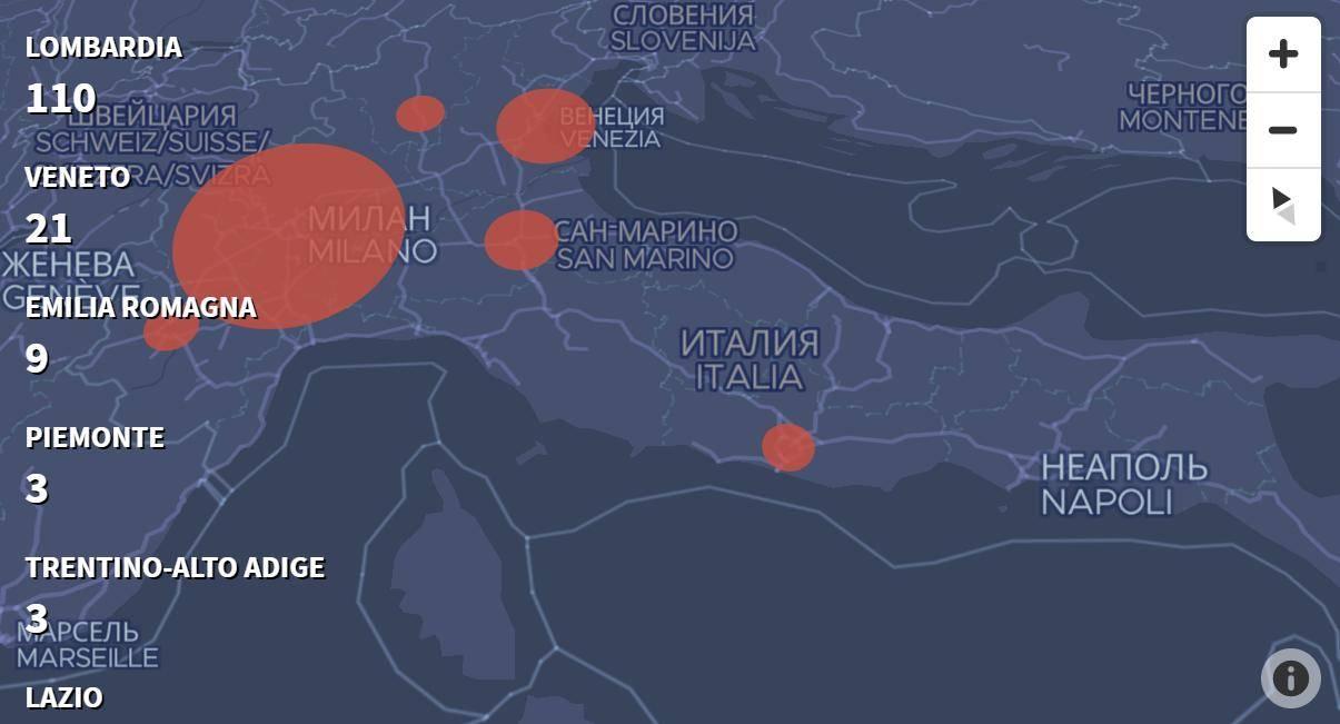 Коронавирус в италии в 2021 году: закрытые города