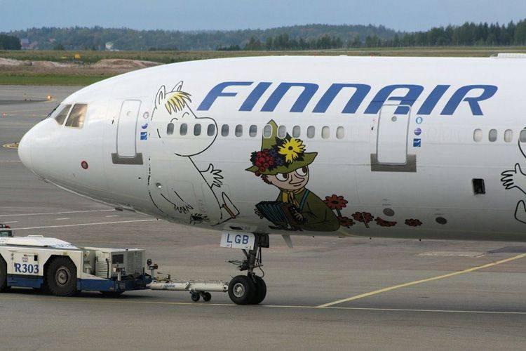 Услуги на рейсах finnair